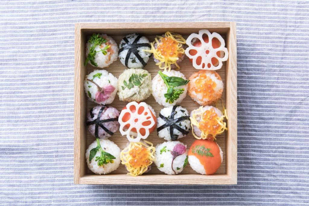 Temari Sushi by Misato Takamatsu